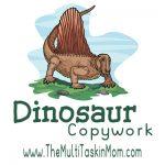 Dinosaur Copywork – FREEBIE