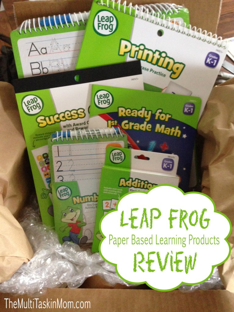 Leap Frog Paper Based Learning Products Review