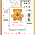 Bear-y Cute Number Pack