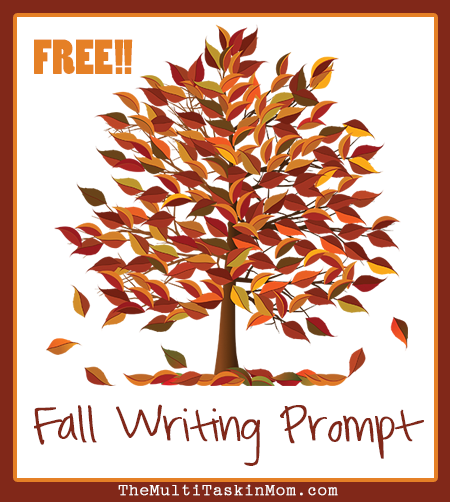 Fall Writing Prompt FREEBIE - TheMultiTaskinMom