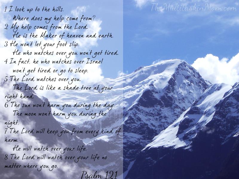 Weekend Inspiration – Psalm 121