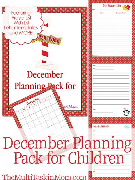 December Planning Pack