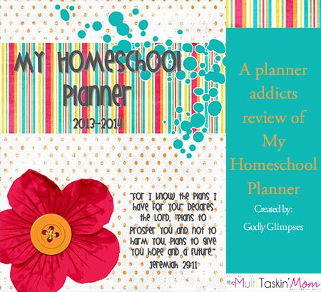 Inspired Wednesday – Homeschool Planner