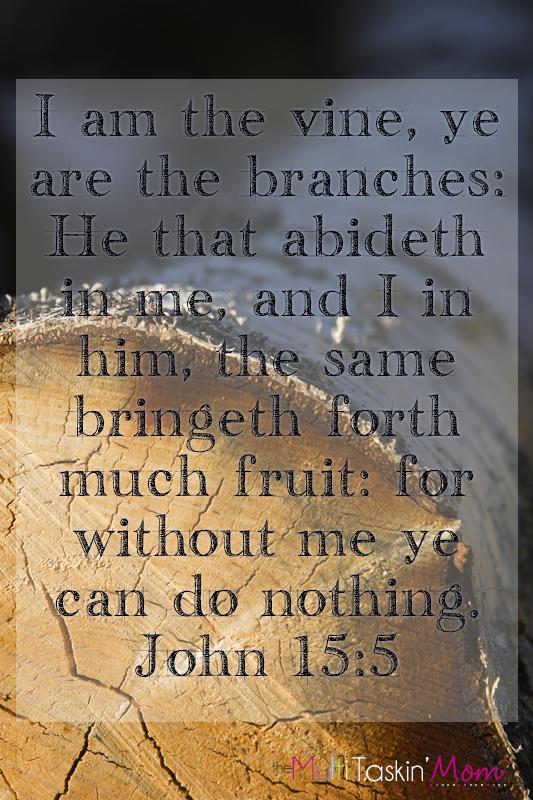 Weekend Inspiration – John 15:5