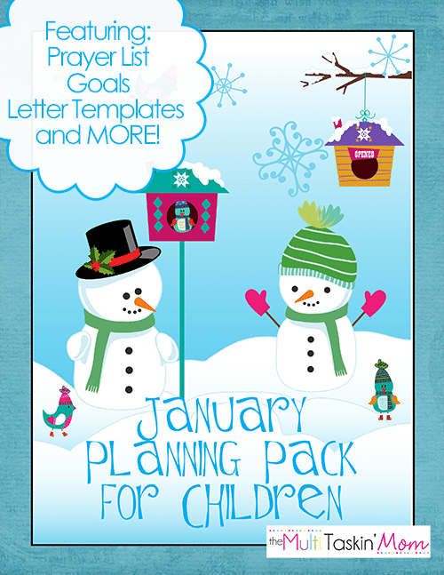 January Planning Pack for Children