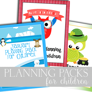 Planning Packs 4 Children