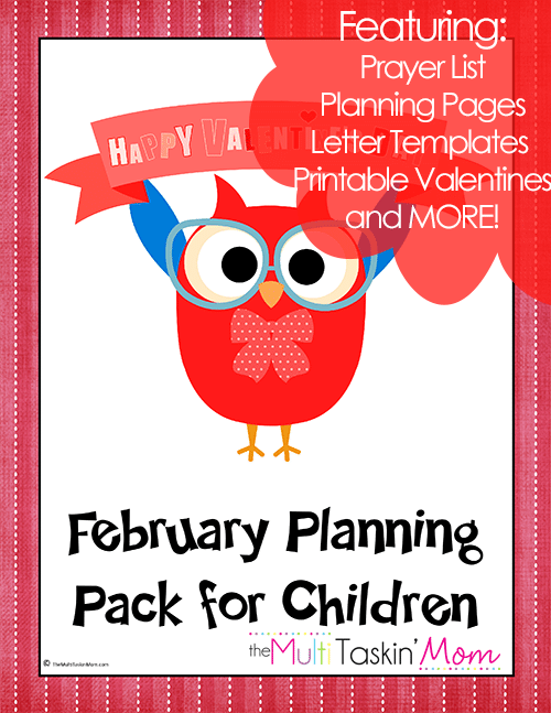 February Planning Pack for Children