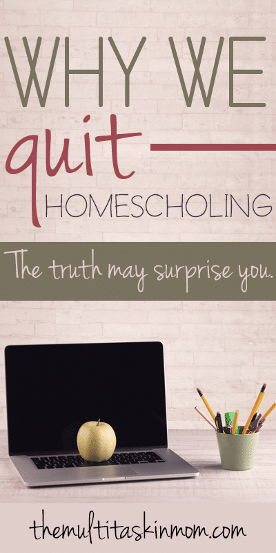 why-did-we-quit-homeschooling