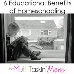 6 Educational Benefits of Homeschooling