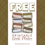 {FREE!} Book Plates – Encourage Your Young Readers