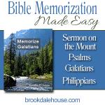 Bible Memorization Made Easy