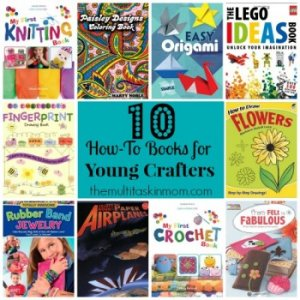 How-To Books for Young Crafters