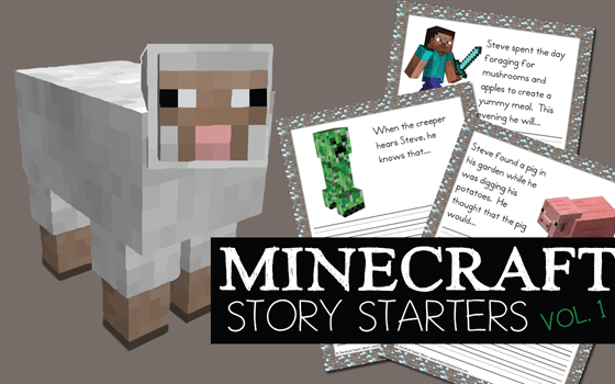 Minecraft Story Starters Vol 1 FREE