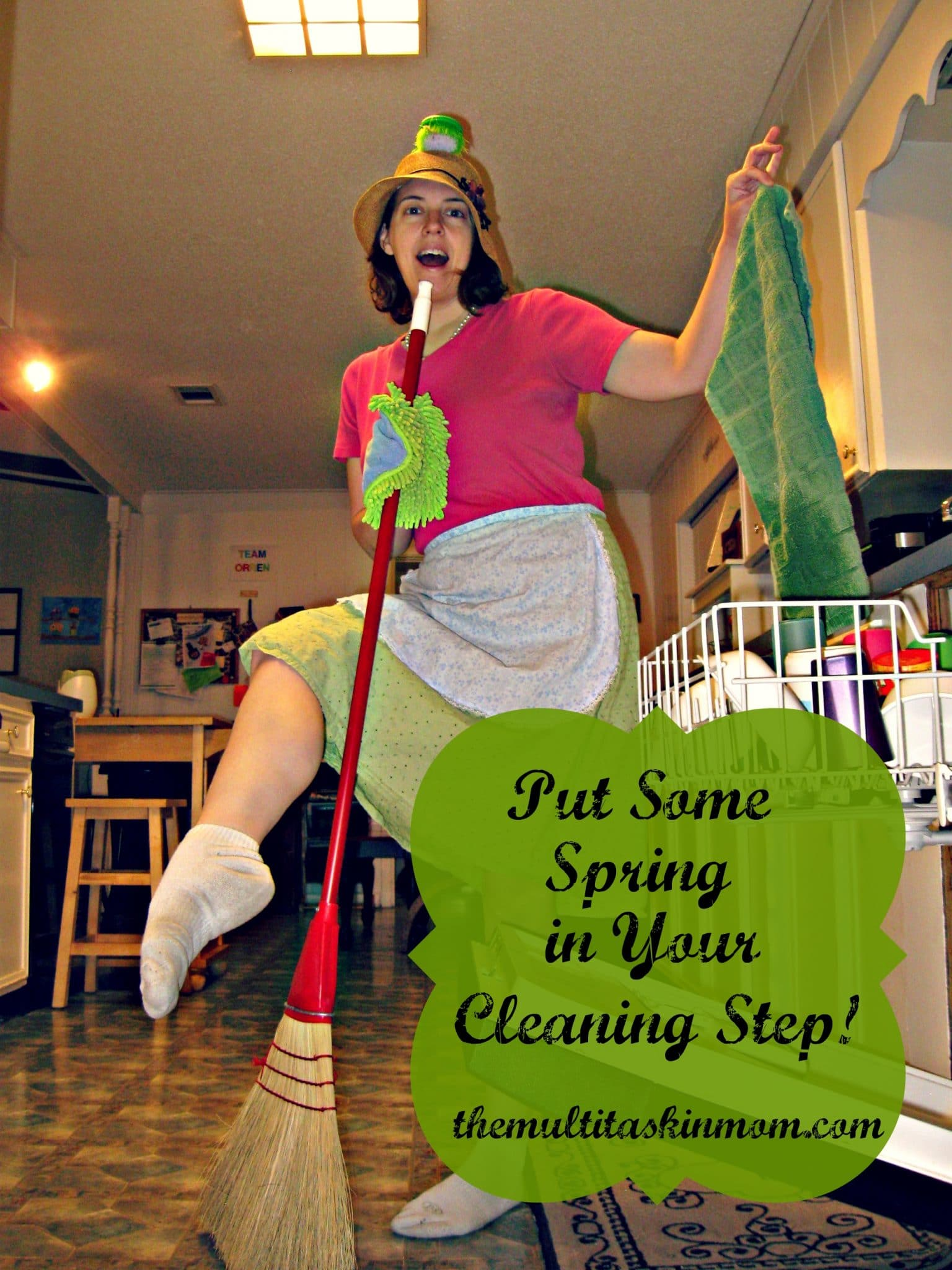 """""""Put Some Sring in Your Cleaning Step"""""""