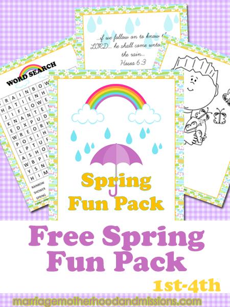 Spring Fun Pack