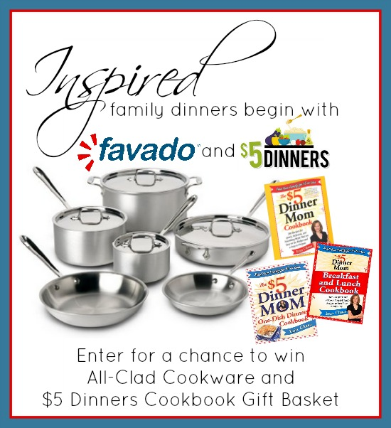Inspired Family Dinners and a Giveaway