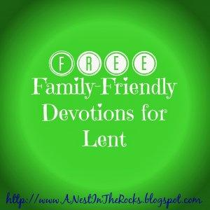 Lent Devotions