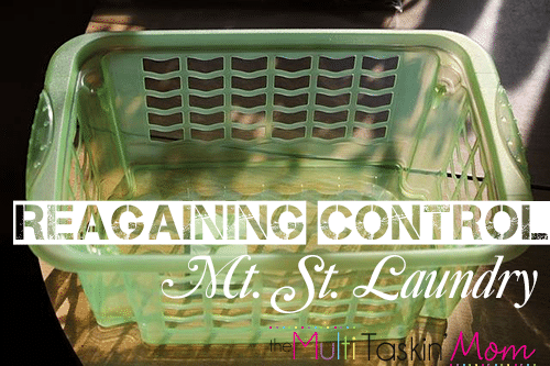 Regaining Control of Mt St Laundry