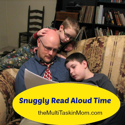 Snuggly Real Aloud Time