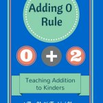 The +0 Rule: Kinder Addition