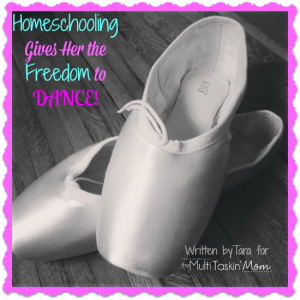 #Homeschooling gives her the freedom to #dance! | themultitaskinmom.com