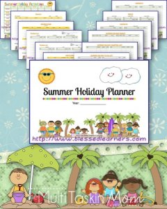 Summer Holiday Planner MTM