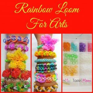 Rainbow Loom For Arts