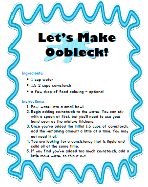 picture regarding Slime Recipe Printable referred to as 2 Cost-free Selfmade Slime Recipes