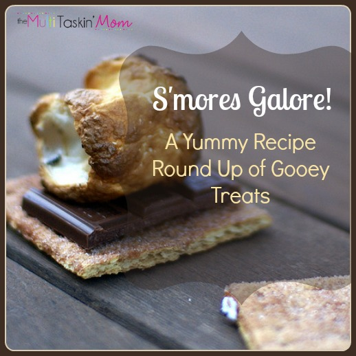 S'mores Galore! {A Yummy Recipe Round Up of 40 Gooey Treats}