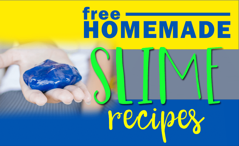 FREE Slime Recipes