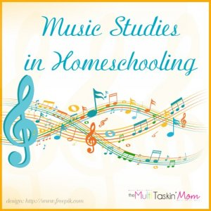 Music Studies in Homeschooling