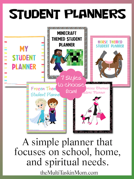 Student Planners2