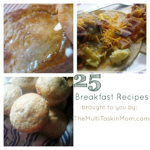 25 Breakfast Recipes