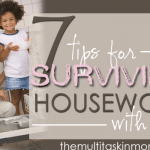 Surviving Housework With Kids