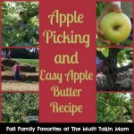 Let's Go Picking! Apple Orchard Visit and Easy Apple Butter Recipe