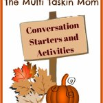Fall Family Favorites: Conversation Starters
