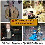 Fall Family Favorite: Homemade Costumes