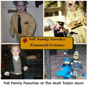 Check out these fun homemade costumes!