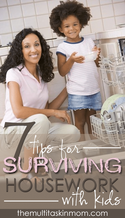 How you can survive housework with a house full of kids today