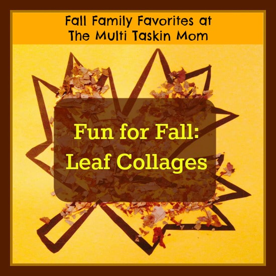 Go for a hike and collect leaves and then create these fun leaf collages!