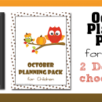 October Children's Planning Pack