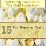 15 Fun Popcorn Crafts for Fall