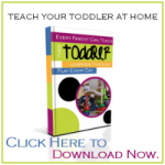 Teaching Toddlers: Yes You Can!