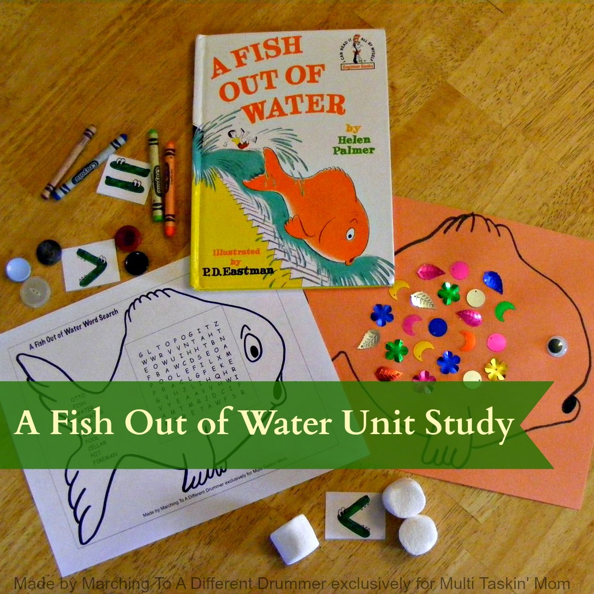 A fish out of water pre k elementary unit study the for A fish out of water