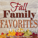 Welcome to Fall Family Favorites