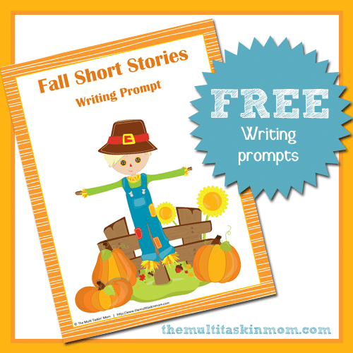 Fall Writing Prompt Freebies