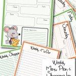 {Free} Printable Menu Planner