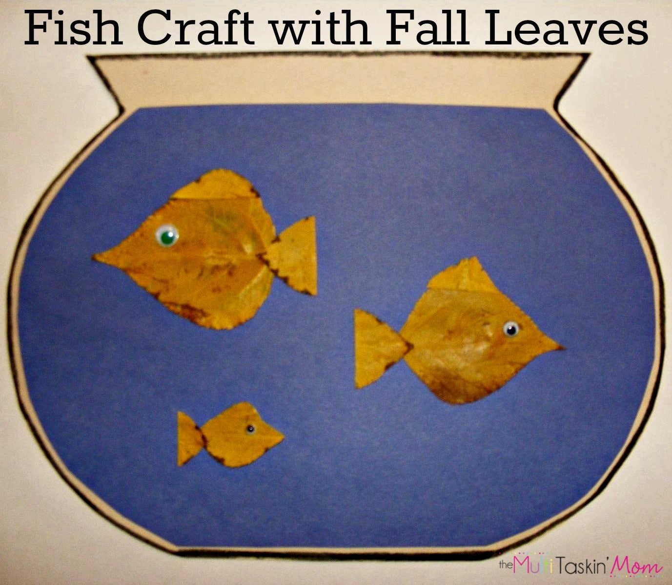 Pre k arts and crafts - A Fish Out Of Water Craft