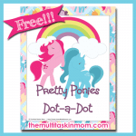 Pretty Ponies Dot-A-Dots