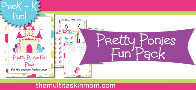 Pretty Ponies Fun Pack Free for Subscribers!